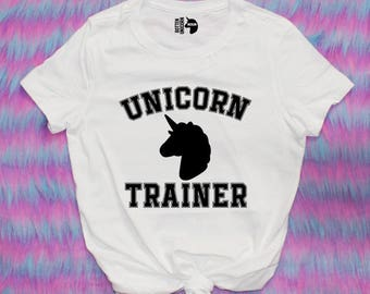 Unicorn Trainer Tee Shirt / other colors available