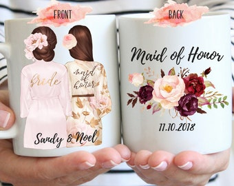 Custom Maid of Honor Mug, Will You Be My Maid of Honor Mug, Maid of Honor Proposal Mug, Maid of Honor Gift, Matron of Honor Proposal Mug