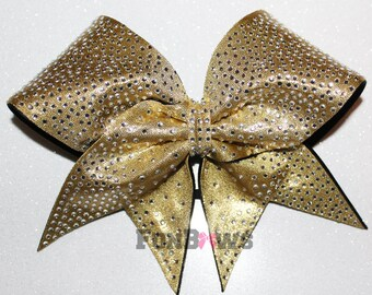 Totally covered in rhinestones - your colors -   Cheer Bow  by FunBows !