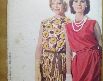 Praktische Mode 6/1963 Sewing pattern magazine
