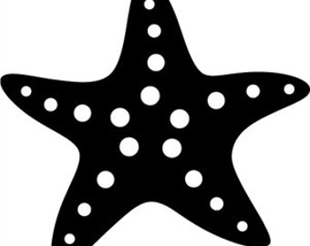 Starfish Vinyl Decal Sticker