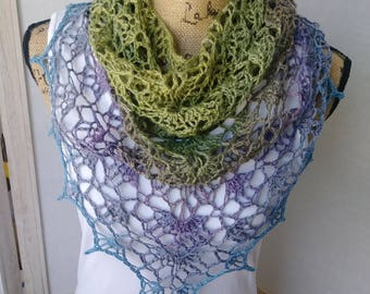 Crochet Wanderer Shawl/Scarf