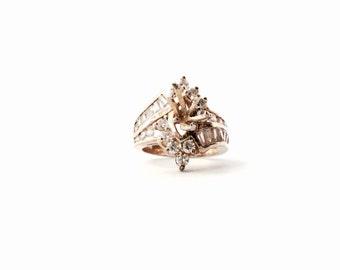 Beautiful Seta 925 Diamond Ring Vd73 Advancedmassagebysara