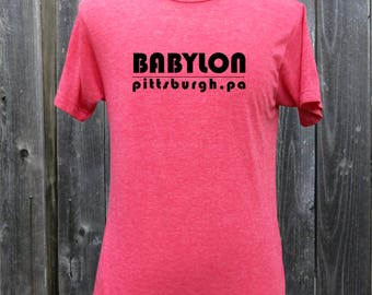 Babylon Nightclub Screenprinted Shirt