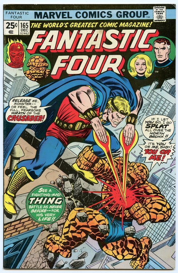 Fantastic Four 165 Dec 1975 FI-VF (7.0)