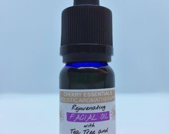 Rejuvenating Facial Oil with Tea Tree and Eucalyptus 10ml