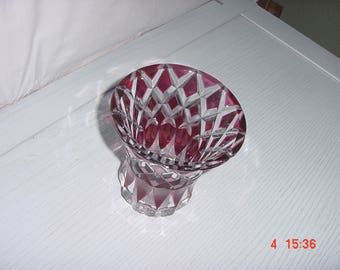 Cut Glass candy dish or flower vase.