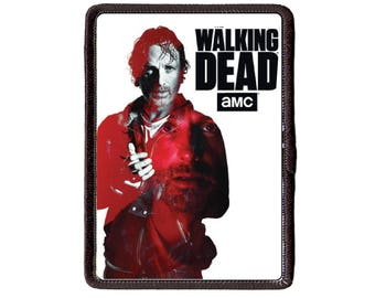 The Walking Dead Rick Grimes Andrew Lincoln  Sew On patch