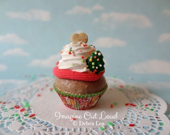 Fake Cupcake Realistic Christmas Holiday Faux Sugar Cookies