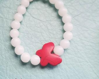 Heart felt beaded bracelets