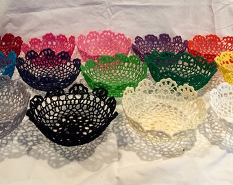 Decorative Lace Bowl