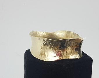 Anticlastic Textured Bracelet