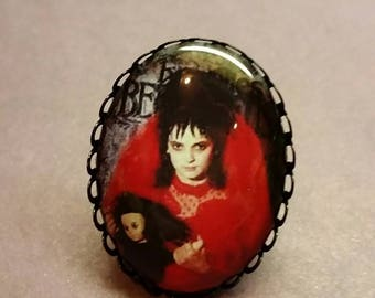 Lydia from BeetleJuice adjustable ring