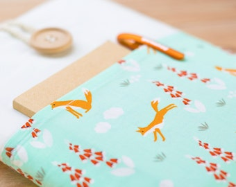 Macbook Pro case, Macbook Pro sleeve, Macbook Pro 13, Macbook Air 13 2017, Laptop sleeve, Dell XPS, HP, Asus Zenbook, Lenovo Yoga,Cute Foxes