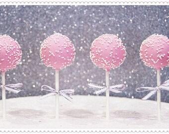 Pink 'n' Pearls Cake Pops