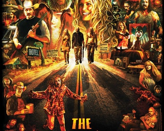 The Devil's Rejects 11X17 Signed by Joel Robinson