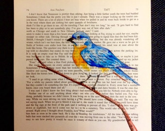 Custom Painting on Book Page