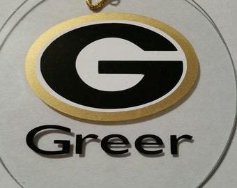 Greer High School Ornament
