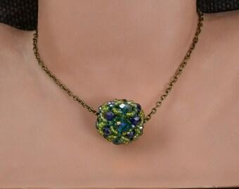Sparkling bead pendant