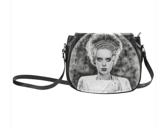 Bride of Frankenstein Saddle bag