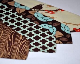 Autumn Wedding Ties - Men's Necktie or Boy's Tie