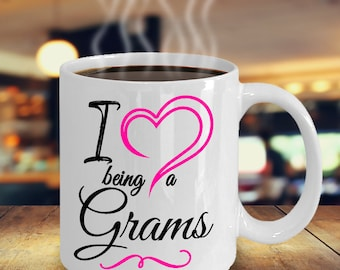 Grams Mug, Grams Coffee Mug, Grams Gift, Grams Gift Mug, Gift For Grams, Grams Mugs, Grams Gifts, Grams Gift Ideas, Being A Grams
