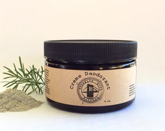 Natural Deodorant - Baking Soda Free Deodorant - Creme Deodorant - Detoxifying Deodorant - Aluminium Free Deodorant - Bentonite Clay