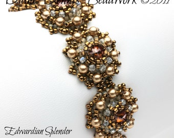 Kit for the Edwardian Splendor Bracelet in Crystal Copper