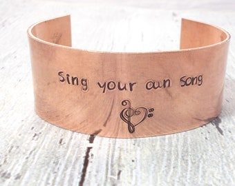 Personalized Message Cuff, Custom Cuff, Personalized Cuff, Personalized Motivational Bracelet, Message Bracelet, Message Cuff, Metal Cuff