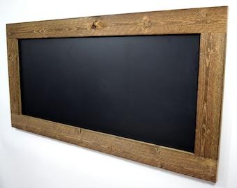 Rustic Reclaimed Wood Chalkboard, Large Framed Chalkboard, Big Chalkboard,  Huge Chalkboard, Wall