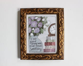Strong Words ART PRINT