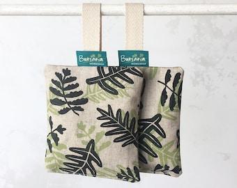 Scent sachet // Perfumed sachet // Lavender sachet // Drawer sachet // Organic sachet // Hand-printed sachet // Lavender bag