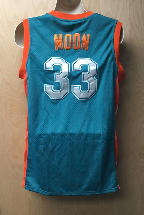 & Flint Tropics Jackie Moon Jersey Green Basketball Uniform