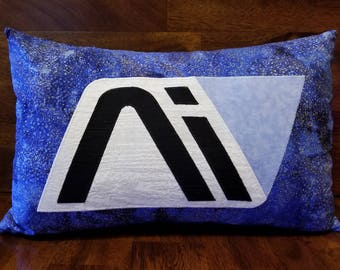 Hand-Made Mass Effect Andromeda Decorative pillow cover and insert