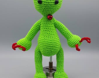 Amigurumi Monster - zippy