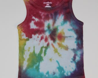 24 month tie dyed tank