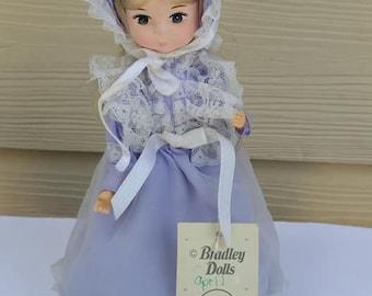 Vintage Big Eyed Doll by Bradley Made In Korea SD 668B