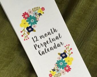 Perpetual Calendar- Birthday, anniversary, important dates