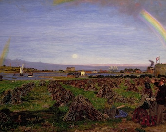 Ford Madox Brown: Walton-on-the-Naze. Fine Art Print/Poster (004566)