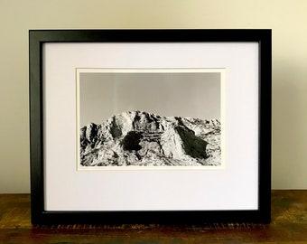 MONT SAINTE-VICTOIRE - Darkroom Print