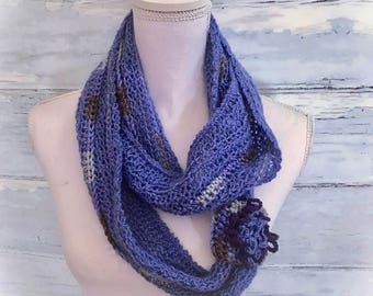 Cowls, infinity scarf ,crochet cowl, Alpaca cowl, neck warmer ,scarf, circle scarf, crochet neck warmer, purple, gifts for her ,winter scarf