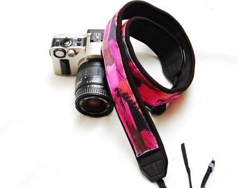 Ready to ship -  DSLR camera strap -Sunset