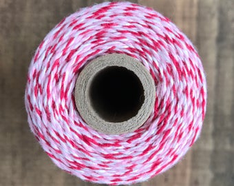 Red, Pink and White Valentine's Day Divine Twine Baker's Twine