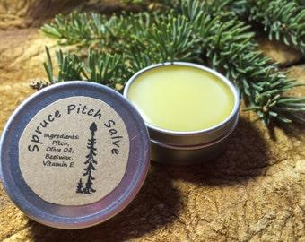 Spruce Pitch Salve