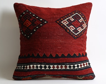 kilim pillow, decorative pillow, turkish pillow, bohemian pillow, pillow, turkish kilim pillow, pillow cover, boho pillow, vintage pillow