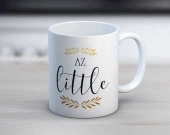 DZ Delta Zeta Little Mug Sorority Coffee Mug