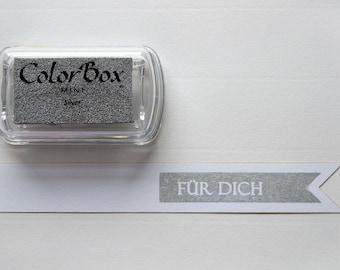 Silver - Pigment Inkpad
