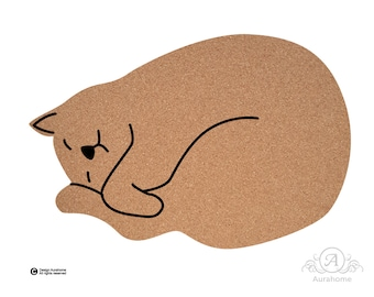 Cat Pin Board Cork Board Organizer