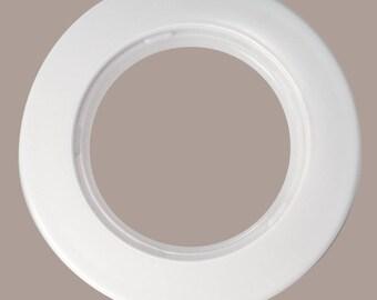 Set of 10 eyelet curtain Ø50 mm - white