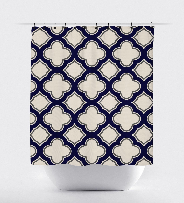 blue and tan shower curtain.  zoom tan cream geometric shower curtain high quality fabric
